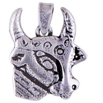 The Holy Cow Silver Pendant