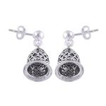 The Bell Silver Earrings