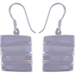 The Shell Stack Silver Earring