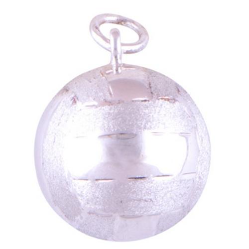 The Clubbing Ball Silver Pendant