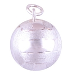 The Clubbing Ball Silver Pendant