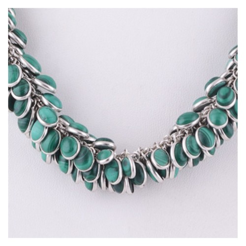 The Empress Silver Necklace