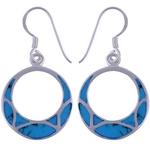The Turquoise Dangler Silver Earring