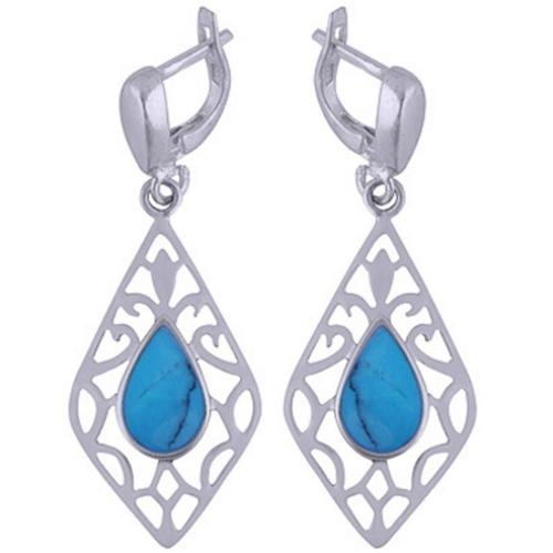 The Azure Silver Earring