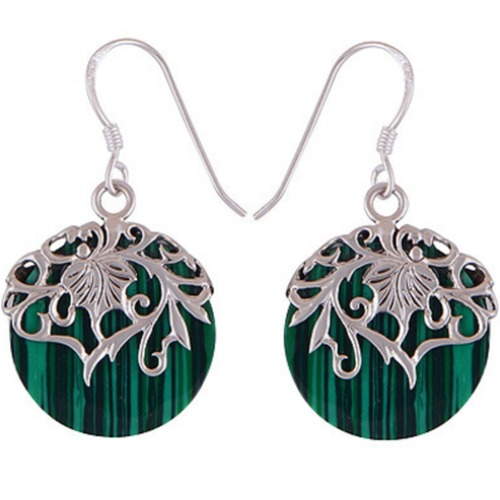 The Forest Split Silver Earring