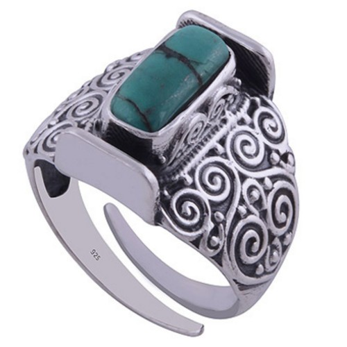Cocktail Turquoise Ring