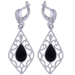 The Night Silver Earring