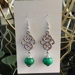 Celtic knot - Jade Green