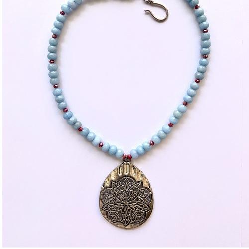 Alhambra Pendant- Periwinkle Blue
