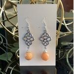 Celtic knot - Peach