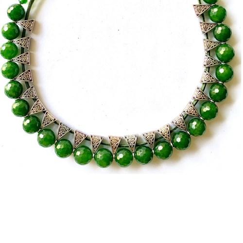 Olive Green Jade Uplifter