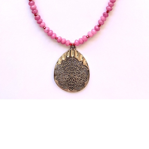 Alhambra Pendant- Periwinkle Pink