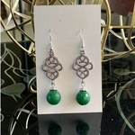 Celtic knot - Leaf green