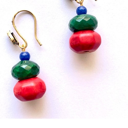 Triple beads on a hook