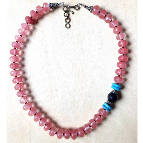 Rose Quartz & Turquoise