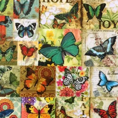 Desi Pop Butterfly Coasters Set of 6