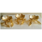 3 Gold Flowers