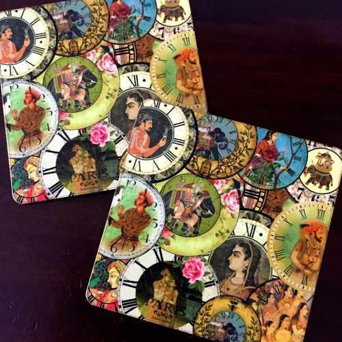 Desi Pop Maharaja Coasters Set of 6