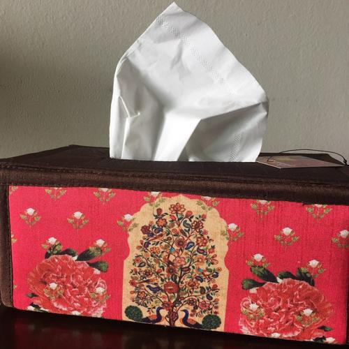Desi Pop Tree of Life Tissue Box Holder