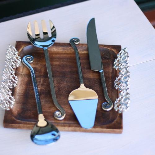 LILLY CAKE SERVER & KNIFE SET