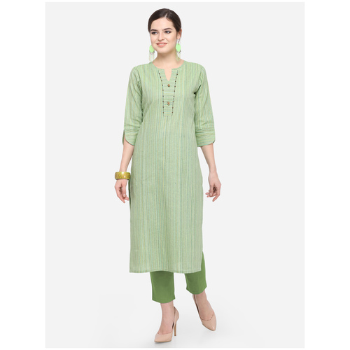 New Women's Cotton Silk Kurti