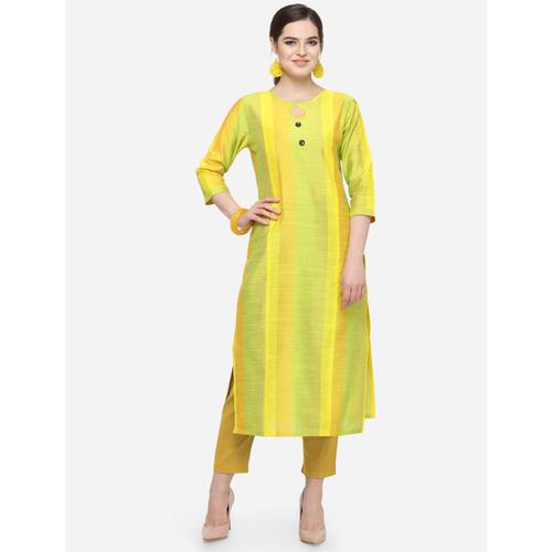New Women's Cotton Silk Multi-Color Kurti