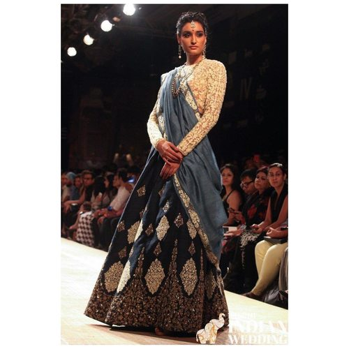 Designer Mulberry Chain Stitched Work Lehenga Choli