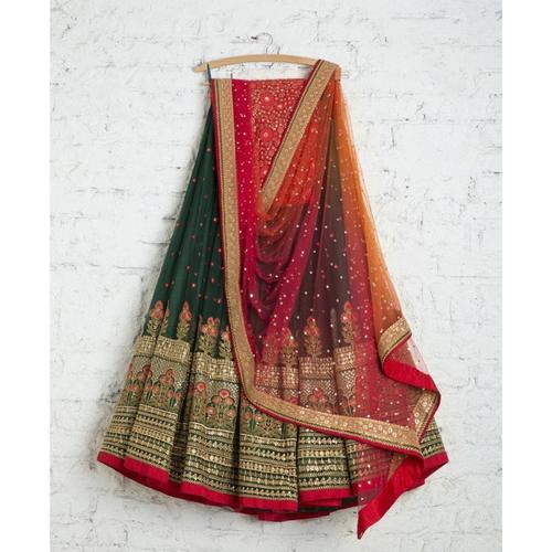 Women's Lahenga Made From Georgette with Embroidery