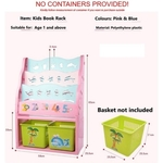 Children Book Organizer (Pink)