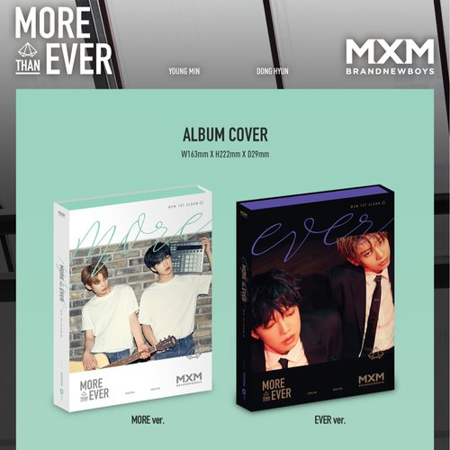 MXM (BRANDNEW BOYS) Album Vol.1 [MORE THAN EVER]