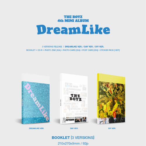 THE BOYZ - Mini Album Vol.4 [DreamLike]