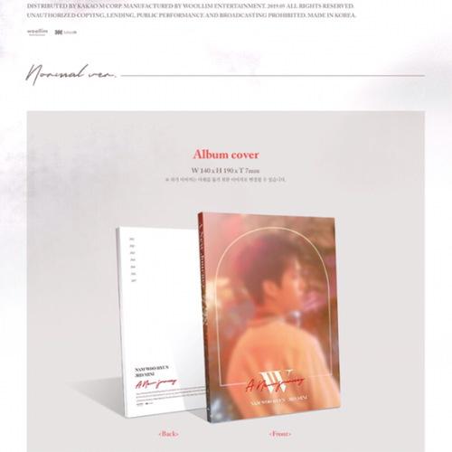 Nam Woo Hyun - Mini Album Vol.3 [A New Journey] (Normal Ver.)