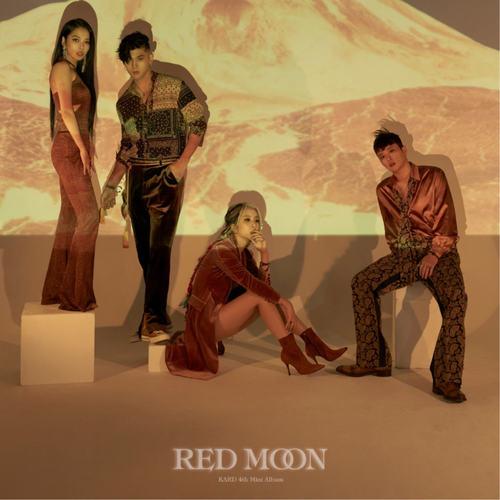 KARD - Mini Album Vol.4 RED MOON