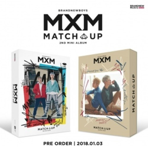 MXM (BRANDNEW BOYS) 2ND MINI ALBUM - MATCH UP
