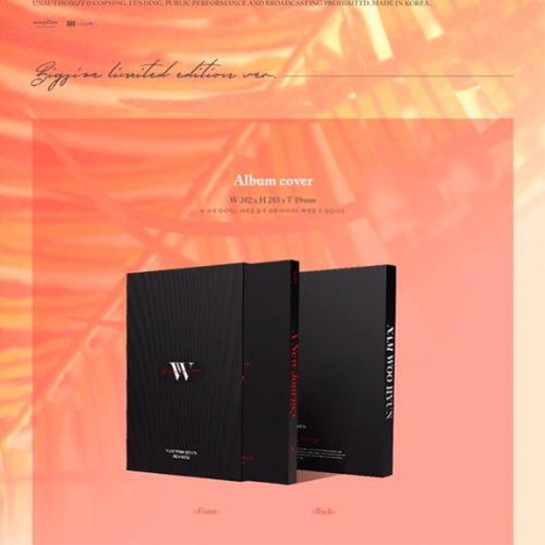 Nam Woo Hyun - Mini Album Vol.3 [A New Journey] (Big size limited edition Ver.)
