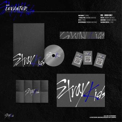 Stray Kids - Mini Album Clé  LEVANTER Normal E