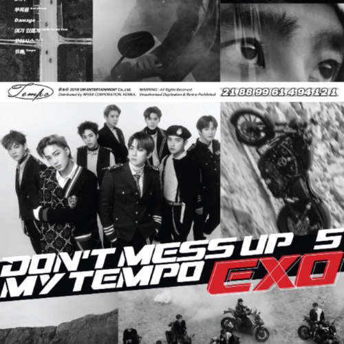 [Set of 3] EXO - Album Vol.5 [DON'T MESS UP MY TEMPO]