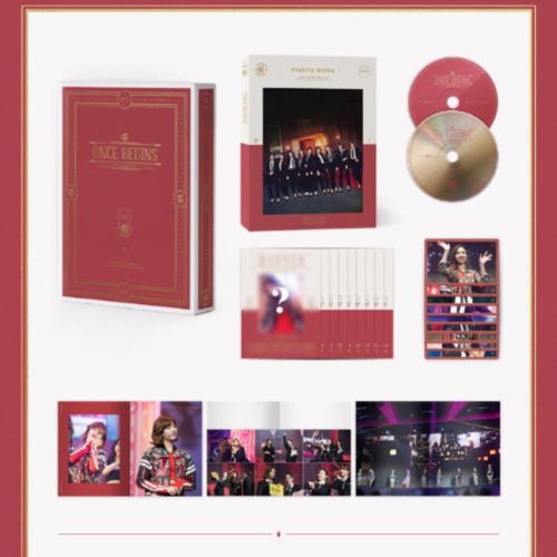 TWICE TWICE FANMEETING ONCE BEGINS DVD