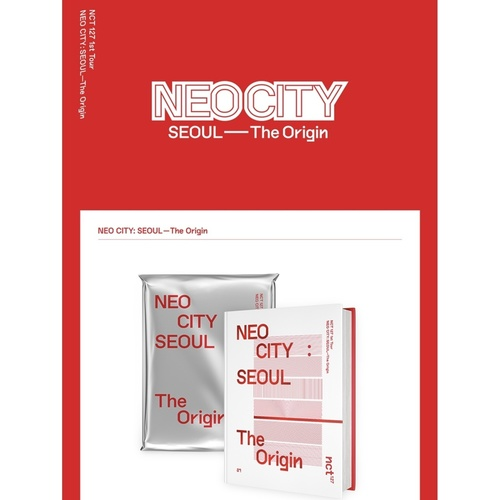 NCT 127 1st Tour NEO CITY : SEOUL – The Origin Photobook & LiveAlbum
