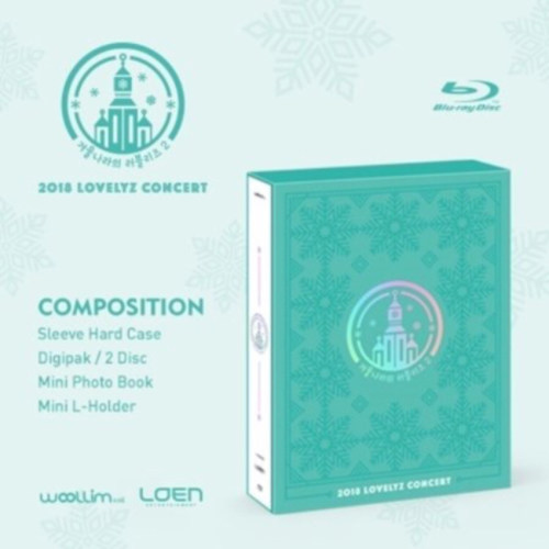 Lovelyz - 2018 LOVELYZ CONCERT [Lovelyz in Winterland2 Blu-Ray]