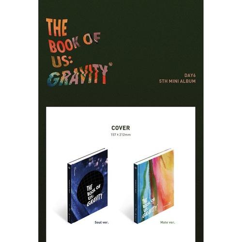 DAY 6 - Mini Album Vol.5 [The Book of Us : Gravity]