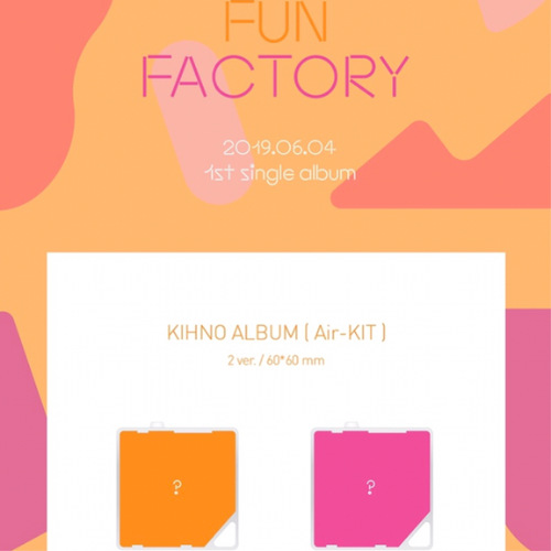 [Kihno Album] fromis_9 - Single Album Vol.1 [FUN FACTORY]