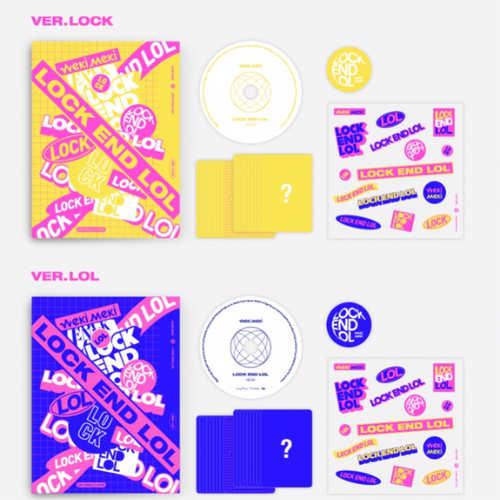 Weki Meki - Single Album Vol.2 [LOCK END LOL]