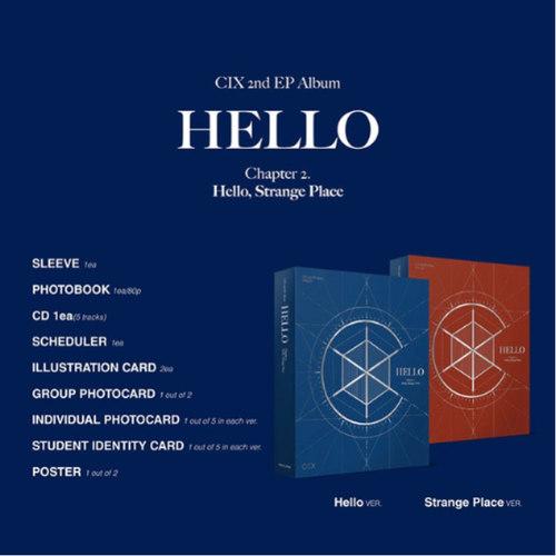 CIX - EP Album Vol.2 HELLO Chapter 2. Hello, Stra