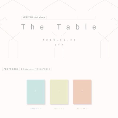 NU'EST - Mini Album Vol.7 [The Table]