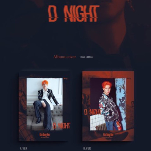 Kim Dong Han - Mini Album Vol.2 [D-NIGHT]