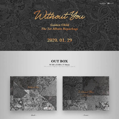 Golden Child - Repackage Album Vol.1 Without You