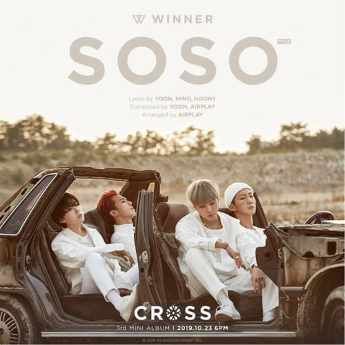 WINNER - Mini Album Vol.3 CROSS