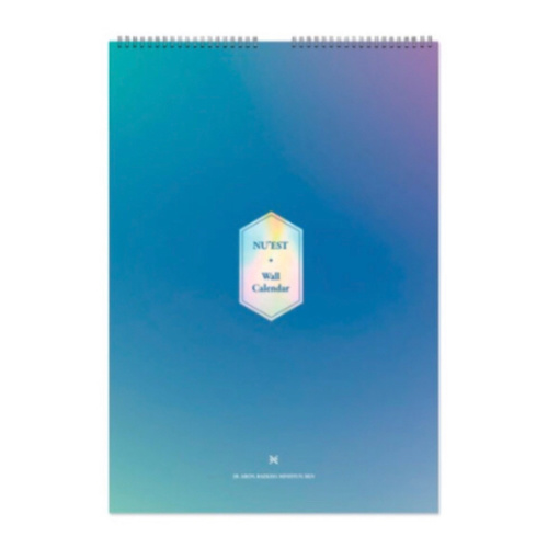 NU'EST - NU'EST 2019 SEASON'S GREETINGS WALL CALENDAR