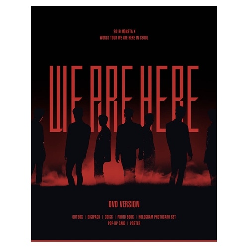 MONSTA X 2019 WORLD TOUR [WE ARE HERE] IN SEOUL DVD